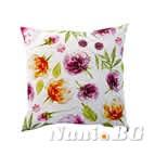 Декоративни възглавници минимат тринити - цветя