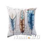 Декоративни възглавници минимат тринити - пера