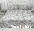 Спално бельо памучен сатен Темира