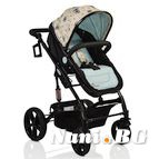 Детска комбинирана количка Pavo - светло синьо