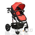 Детска комбинирана количка Pavo - червено