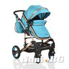 Детска комбинирана количка Gala - синьо