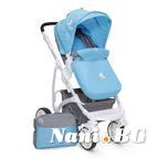 Детска комбинирана количка Tala - синьо
