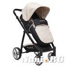 Детска комбинирана количка Rachel - бежаво