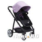 Детска комбинирана количка Rachel - лилаво