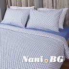 Спално бельо - Сини Фигури