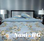 Спално бельо бръширан памук - Оксана