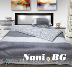 Спално бельо бръширан памук - Хилда