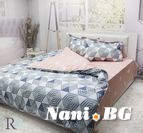 Спално бельо памучен сатен Мия