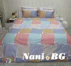 Спално бельо памучен сатен Талия