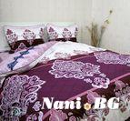 Спално бельо памучен сатен Стефани