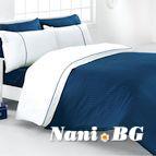 Луксозен спален комплект VIRA - BLUE
