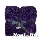 Луксозно одеяло MiKa - 11T004 Lila
