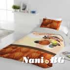 Единично спално бельо ранфорс - Маймуна