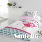 Единично спално бельо ранфорс - Принцеса