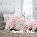 Спално бельо - Фламинго бяло и розово