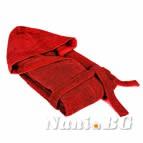 Халат за баня Порто 350гр - червено