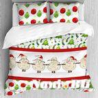 Лимитирана колекция коледно спално бельо - Овце