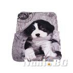 Бебешко одеяло двулицево - Куче