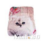 Бебешко одеяло двулицево - Коте
