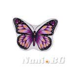 Килимче за баня 3D - Лилави крила