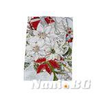 Хавлиени кърпи DF печат 30x50 Посребрени цветя