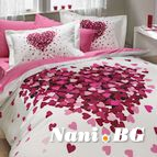 Спално бельо памук поплин - JUANA PEMBE