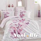 Спално бельо памук поплин - SUENO LILA