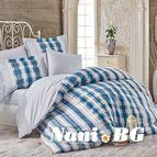 Спално бельо памук поплин - DEBORA MAVI