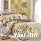 Спално бельо памук поплин - MIRELLA CAPPUCCINO