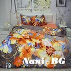Спално бельо памучен сатен Панел Калиста