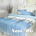 Спално бельо памук - Лодки