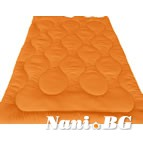 Лятна олекотена завивка Микрофибър - оранжев