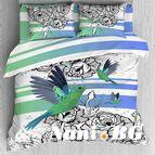Спално бельо памучен сатен - Тангра