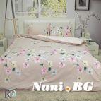 Спално бельо памучен сатен Мария