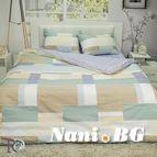 Спално бельо памучен сатен Евгения