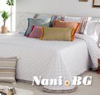 Луксозно шалте Antilo Фън деко - NANTES-LUMA blanco