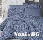 Двоен спален комплект Sweta Indigo