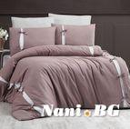 Луксозно спално бельо памучен сатен Deluxe - DREAM STYLE VIZON