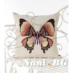 Испанска декоративна възглавница с цип - ФЛАЙ