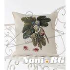 Испанска декоративна възглавница с цип - СМОКИНЯ