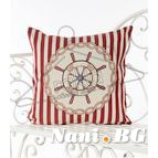 Испанска декоративна възглавница с цип - РУЛ ЧЕРВЕНО