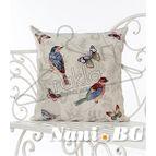 Испанска декоративна възглавница с цип - ПРОЛЕТ