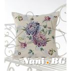 Испанска декоративна възглавница с цип - НЕЖНОСТ