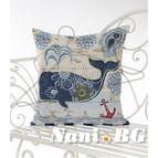 Испанска декоративна възглавница с цип - КИТ