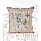 Испанска декоративна възглавница с цип - ВИНТИДЖ II