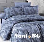 Луксозен спален комплект памучен сатен Deluxe - SANTA