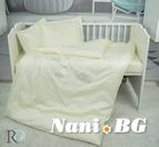 Бебешко спално бельо - Маймунки с Бродерия Екрю