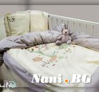 Бебешко спално бельо - Маймунки с Бродерия