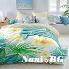 Спално бельо - Екзотична орхидея